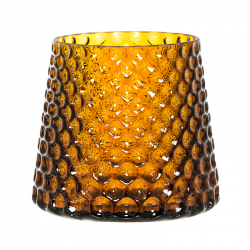 Glas Blumentopf