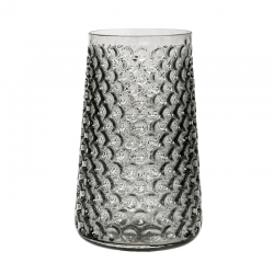 Smokey Grey Vase