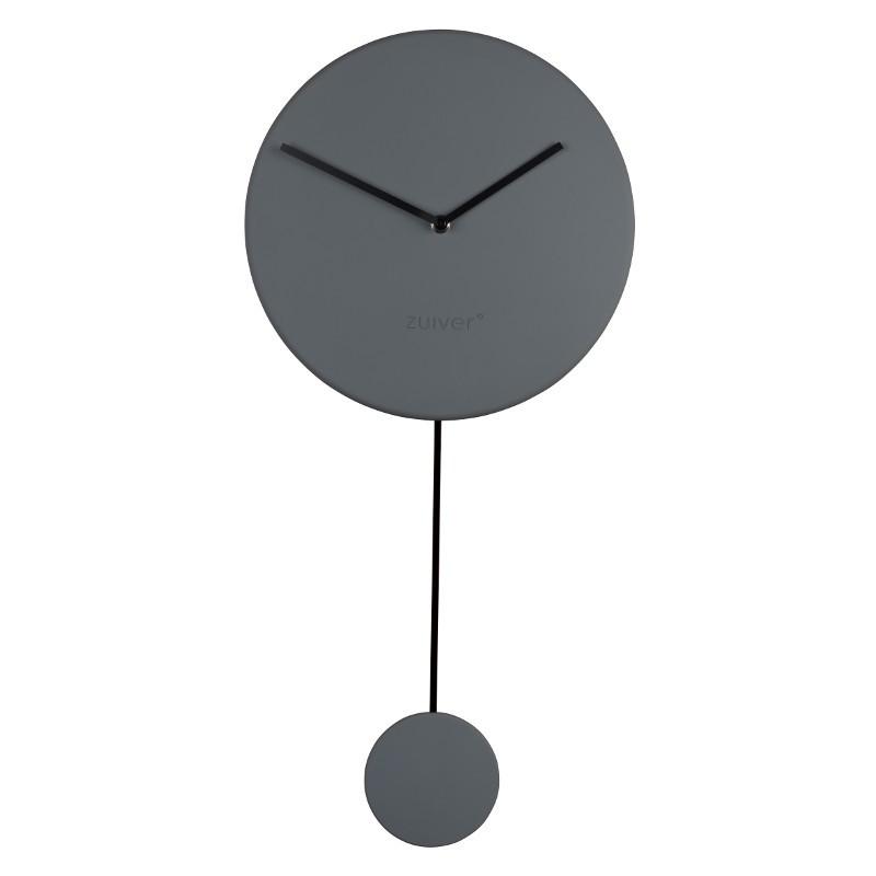Minimal Wanduhr - grau | Dekoration > Uhren > Wanduhren | Zuiver