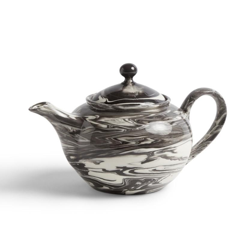 HAY - Marmorierte Teekanne