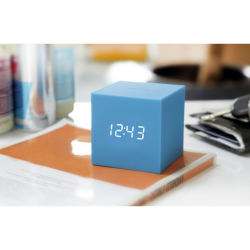 Gravity Cube Click Clock