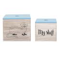 Bloomingville - Storage Aufbewahrungsboxen 2er-Set