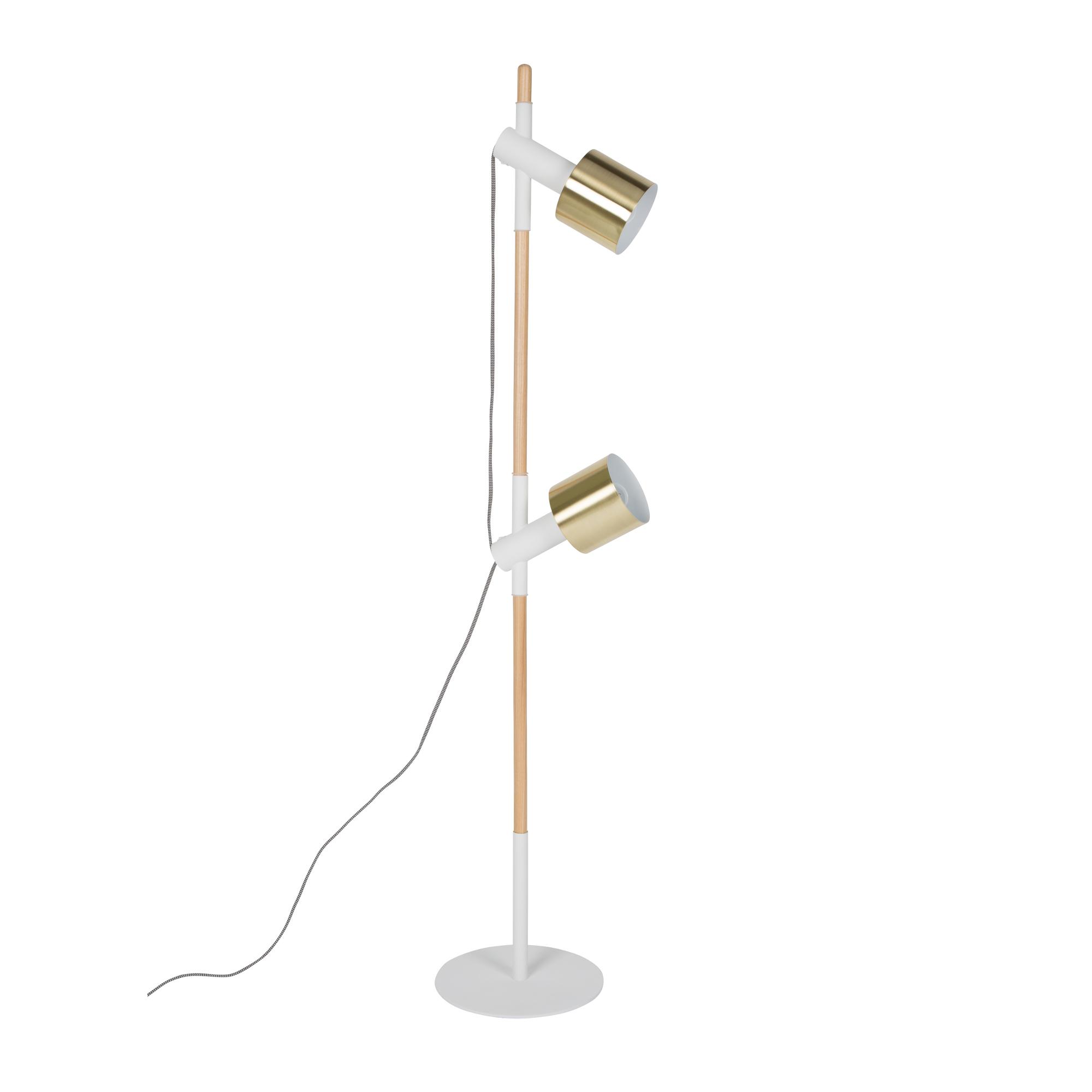 Ivy Stehleuchte - SK155 - orange - mit Lehne (OT W H 1N) | Lampen > Stehlampen > Standleuchten | Orange | Eisen | Zuiver