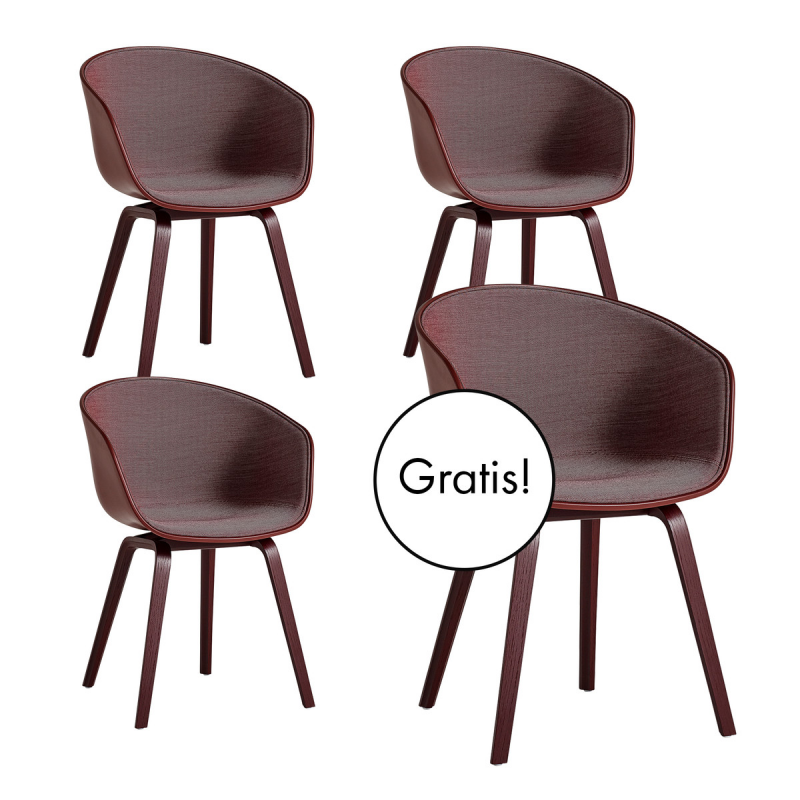 3 + 1 Angebots-Set: About A Chair AAC 22