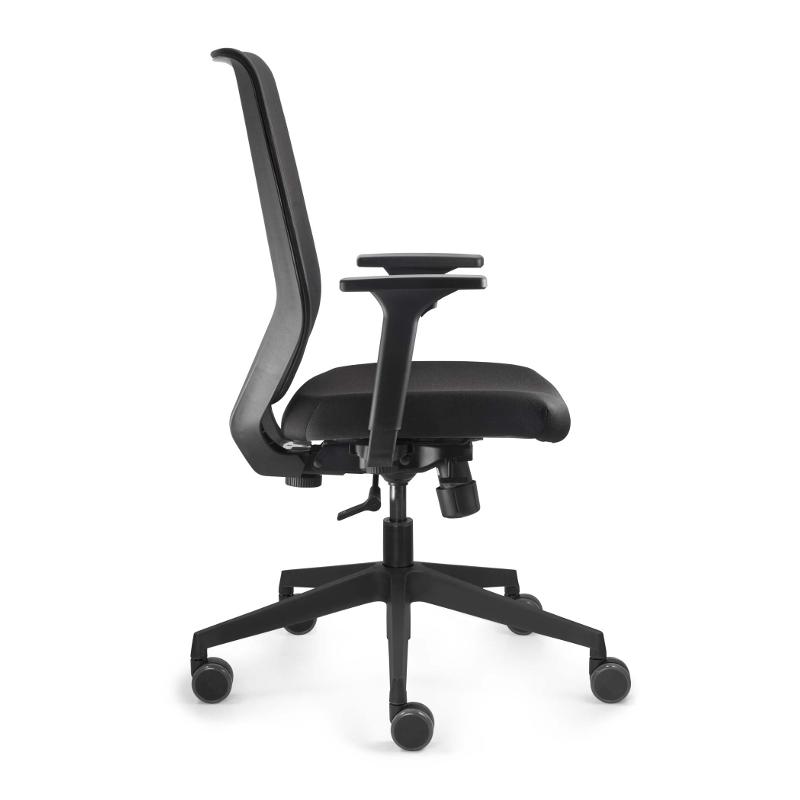 Fan Besucherstuhl Leder - s-29   Büro > Bürostühle und Sessel  > Besucherstühle   Profim