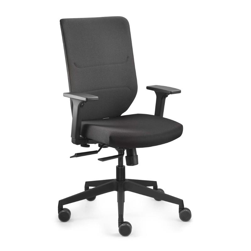 Fan Besucherstuhl Leder - s-22   Büro > Bürostühle und Sessel  > Besucherstühle   Profim